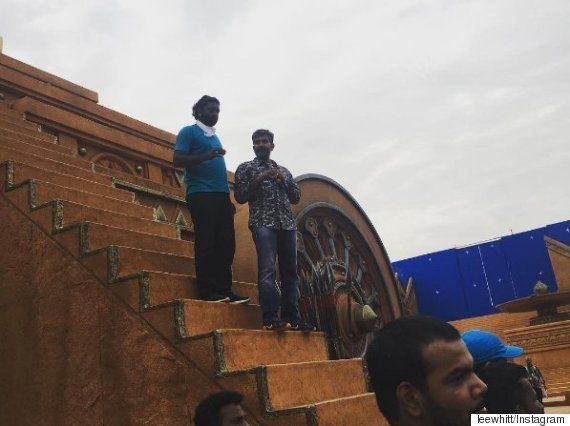 PHOTOS: 'Baahubali - The Conclusion' Climax Shoot, Reportedly Costing 30 Crore,