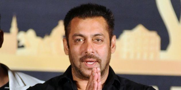 Indian Bollywood actor Salman Khan attends the press conference for the 17th edition of IIFA Awards (International...