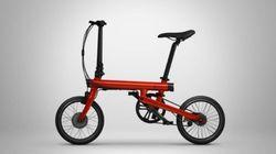 Xiaomi Launches A Folding Electric Bike Called