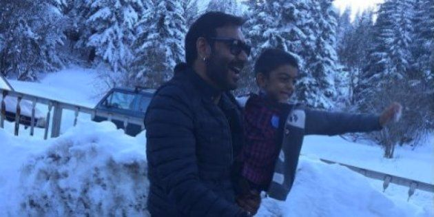 PHOTOS: Ajay Devgn's 'Shivaay' Has Been Shot In Some Breathtaking