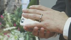 VIDEO: This Man Marries His Smartphone In Las