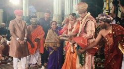 PHOTOS: Maharaja Of Mysore, Yaduveer, Marries Rajasthan Royal Trishika In A Big Fat