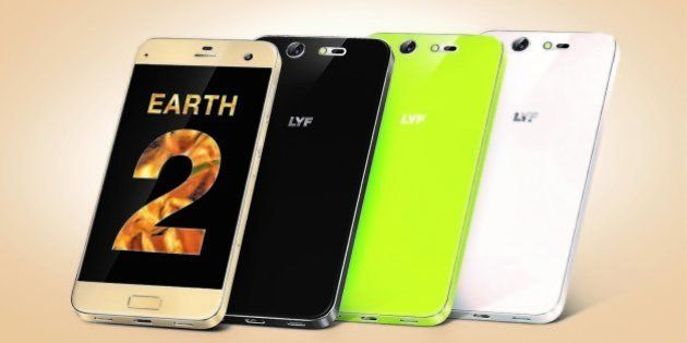 LYF Earth 2 Launched At A Steep