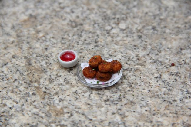 Chennai Artist's Miniature Food Art Will Leave You Hungry For