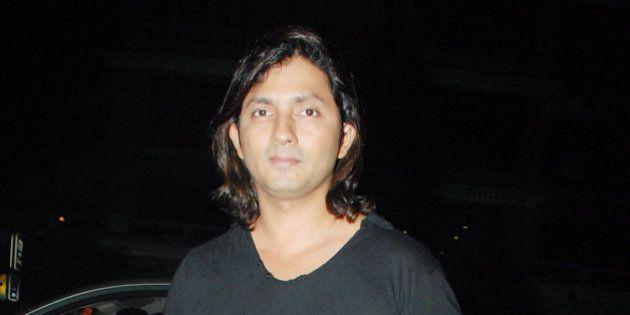 MUMBAI, INDIA - JANUARY 29: Film director Shirish Kunder at Sanjay Dutt's party held at Aurus in Mumbai...