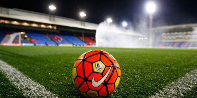 LONDON, ENGLAND - NOVEMBER 23: A general view of the ground prior to kickoff during the Barclays Premier...