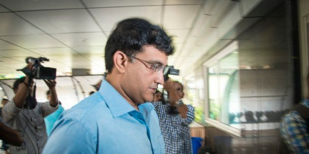 MUMBAI, INDIA JULY 19: A council member Sourav Ganguly at the IPL governing council meeting on July 19,...