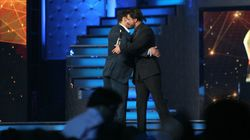 Shah Rukh Khan And Salman Khan's Cycle