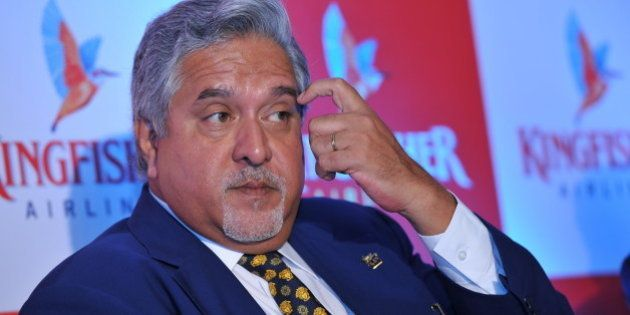 MUMBAI, INIDA NOVEMBER 15: Vijay Mallya, Chairman of Kingfisher Airlines at press conference to announce...