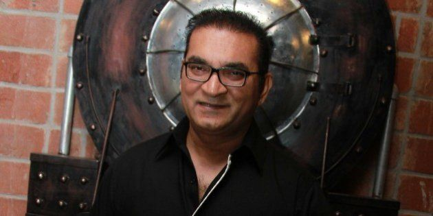 NEW DELHI, INDIA - JUNE 5: Bollywood singer Abhijeet Bhattacharya during the launch party of a new restaurant...