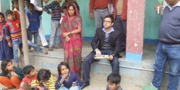 Gopalganj DM Eats Mid-day Meal Prepared By Widow Cook At School, Helps Get Her Job