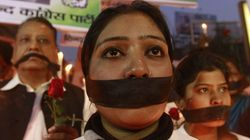 People Gather At Jantar Mantar To Protest Against Release Of Juvenile In Nirbhaya