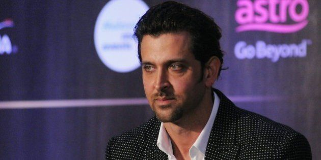 Indian Bollywood actor Hrithik Roshan attends the IIFA Weekend and Awards announcement press conference...
