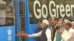 Electric Bus Another Initiative Of 'Make In India' Campaign, Says Narendra