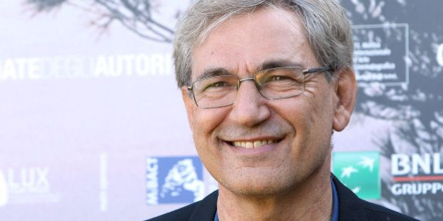 VENICE, ITALY - SEPTEMBER 07: Writer Orhan Pamuk attends a photocall for 'Innocence Of Memories' during...