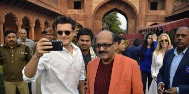 Orlando Bloom Finds His Roots In India, Gets Wowed By Actress