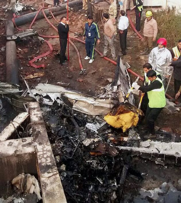 BSF Aircraft Crashes In Delhi, All 10 People On Board