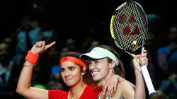 Sania Mirza-Martina Hingis Named Women's Doubles World Champions By