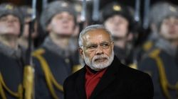 How Twitter Lost It When Modi Walked On As The Indian National Anthem Played In
