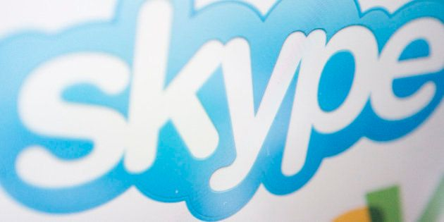 UNITED STATES - JUNE 26: The Skype and EBay Inc. logos are arranged on a computer monitor in New York,...