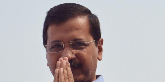 NEW DELHI,INDIA NOVEMBER 09: Chief Minister of Delhi Arvind Kejriwal Inaugurating Aam Aadmi Poly Clinic...
