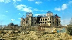 Here Are The Before And After Photos Of Afghanistan's Bomb-Scarred Parliament Building That India Has