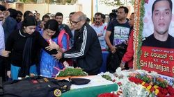 People Bid Emotional Farewell To Lt Colonel Niranjan Who Died In Pathankot