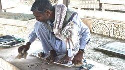 In VHP's Workshop In Ayodhya, Artisans, Sandstone Columns Await An Uncertain
