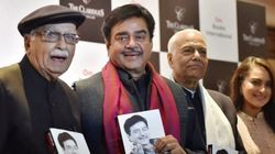 This Book Launch From BJP's Nightmares Starred Shatrughan Sinha, LK Advani And Yashwant