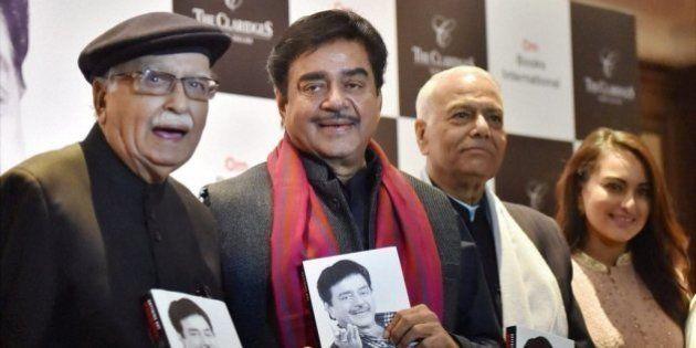 Advani, Yashwant Sinha Take Potshots At BJP At Shatrughan Sinha's Book