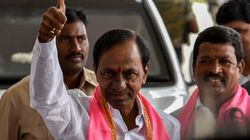 KCR Takes Oath As Telangana CM For Second Straight