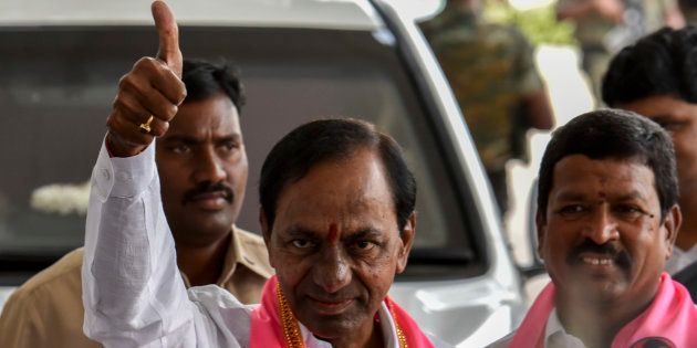 A file photo of K Chandrashekar