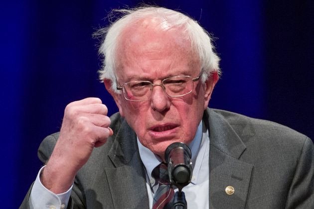 Sen. Bernie Sanders (I-Vt.) delivered a response to Trump's border wall speech shortly after Democratic...