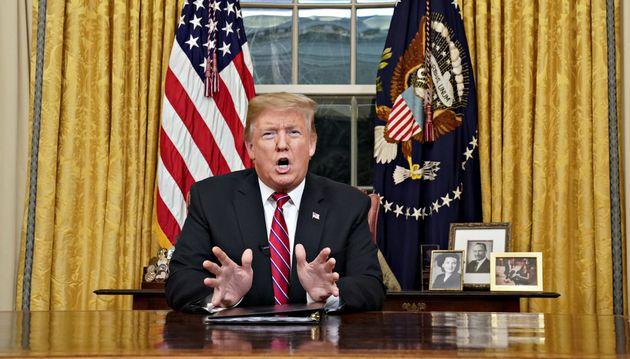트럼프의 '국경 장벽' 대국민연설을 팩트체크