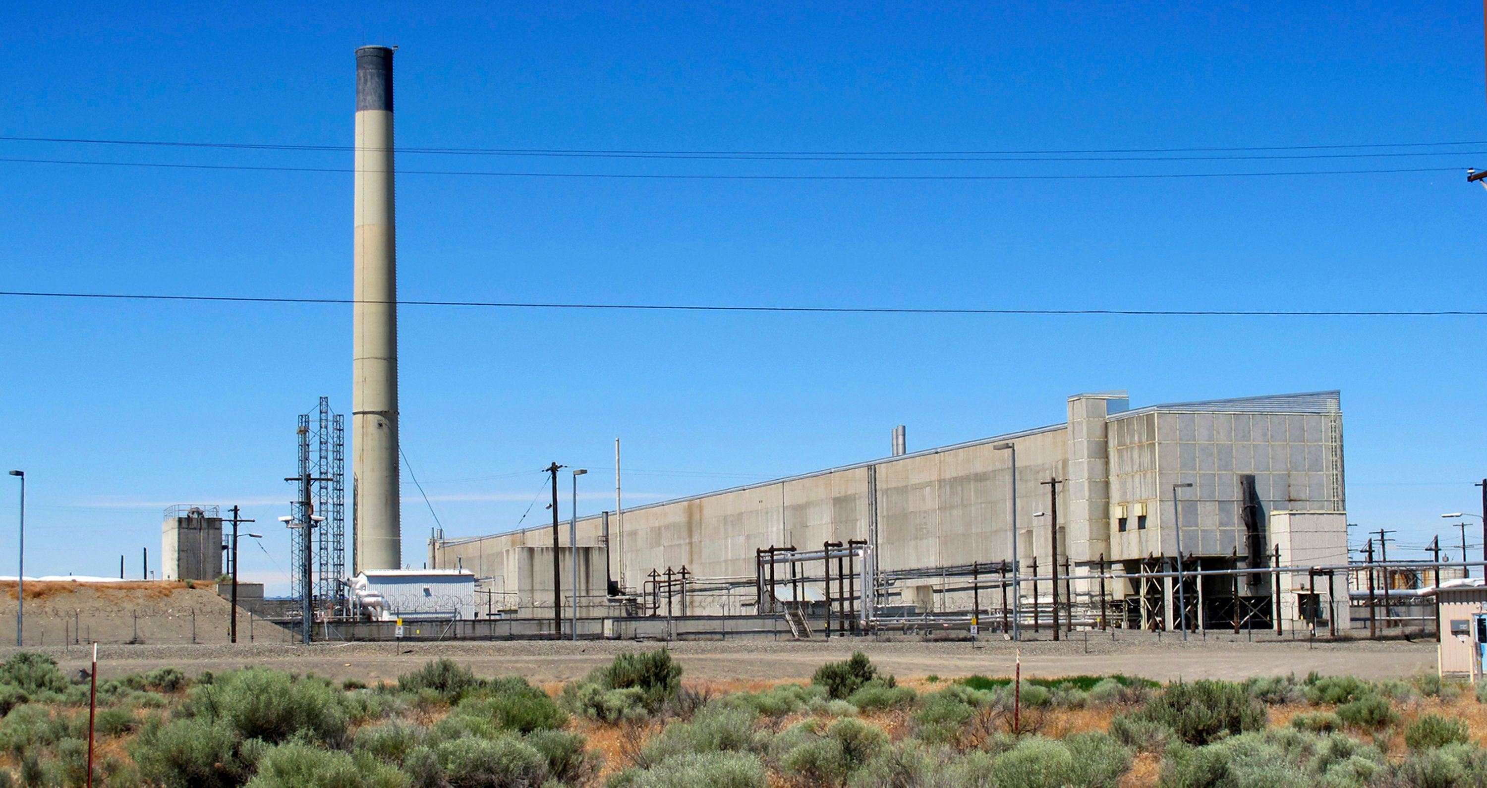 This May 13, 2017 file photo shows the Hanford Nuclear Reservation near Richland, Wash. The state of Washington said Tuesday,