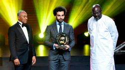 L'Egyptien Mohamed Salah remporte le prix du meilleur joueur africain de l'année