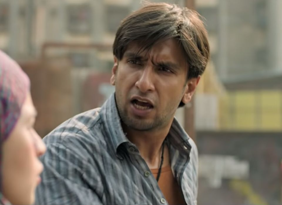 Actor Ranveer SIngh in a still from Gully