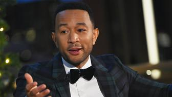 NEW YORK, NY - DECEMBER 05:  John Legend attends John Legend: A Legendary Christmas powered by Pandora x Express on December 5, 2018 at The Rainbow Room in New York City.  (Photo by Ben Gabbe/Getty Images)