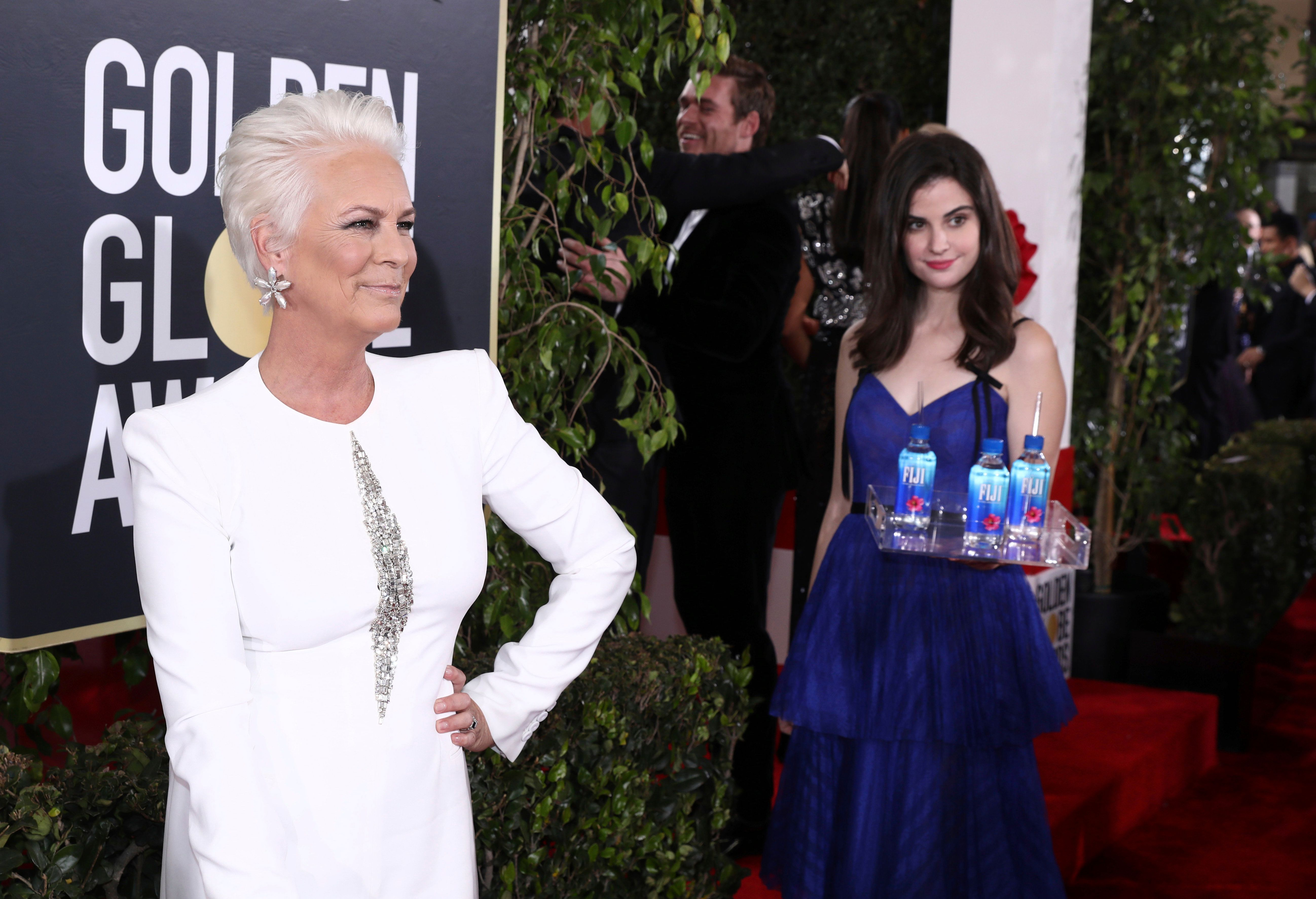 Jamie Lee Curtis Slams Golden Globes After 'Fiji Water Woman' Ends Up Going