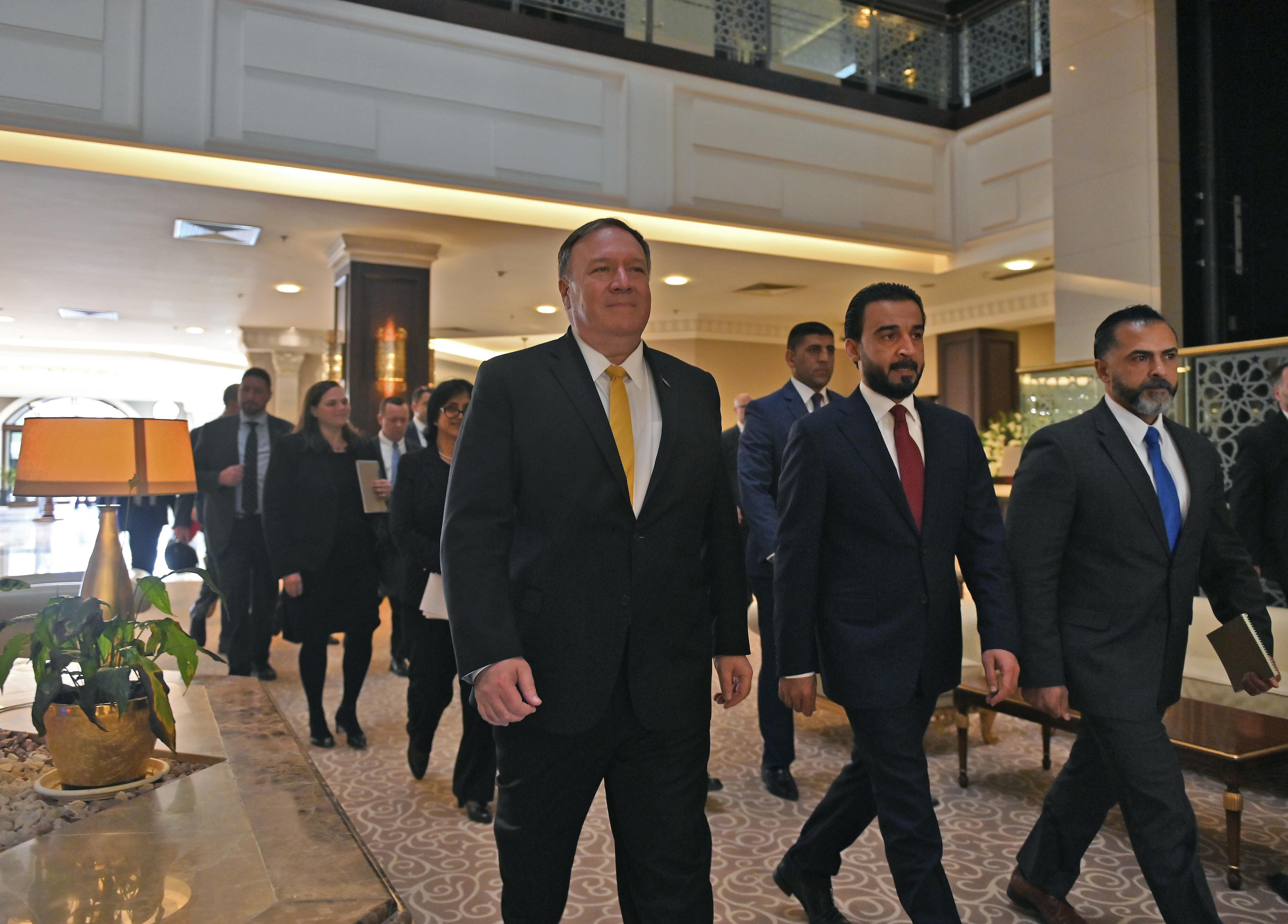 Bagdad, étape surprise de la tournée régionale de