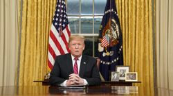 Trump Stokes Immigration Fears In First Oval Office