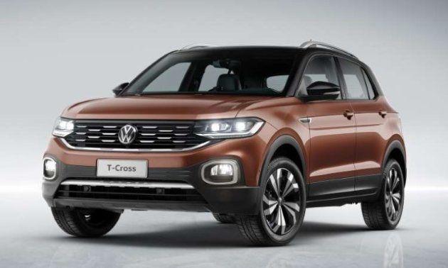 Volkswagen T-Cross terá duas versões de motorização, ambas