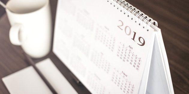Calendário de feriados de 2019 terá poucas possibilidades de