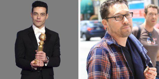 O ator Rami Malek sequer citou Bryan Singer em seu discurso no Globo de Ouro. O diretor usou o Instagram...