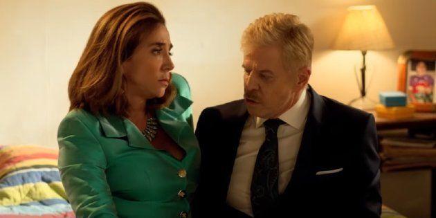 Miguel Falabella e Marisa Orth revivem no cinema casal icônico da TV brasileira nos anos