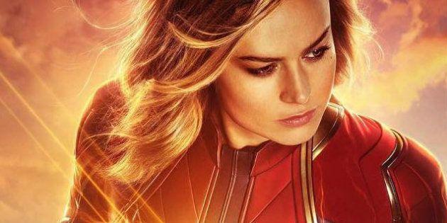 Atriz vencedora do Oscar, Brie Larson dá vida à heroína da