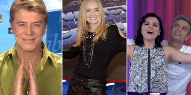 Falabella, Angélica, Monica Iozzi e Otaviano Costa: apresentadores fizeram sucesso na