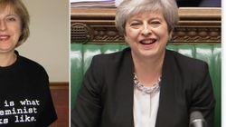 Conservadora e feminista, a primeira-ministra do Reino Unido quer ser... primeira-ministra do Reino