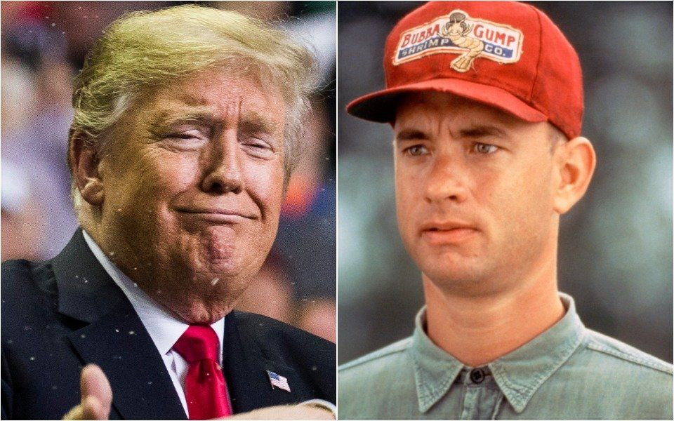 Donald Trump and Forrest Gump