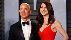 Amazon CEO Jeff Bezos, Wife MacKenzie To